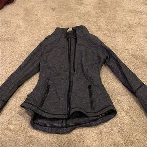 LuluLemon workout jacket zip up
